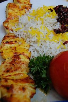 My favorite food of all time, Persian chicken kabob! and its gluten free, all the better :)