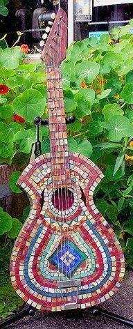 22 Best Mosaic Musique Images In 2016 Mosaic Art Guitar