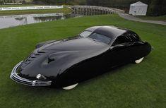 1938 phantom corsair. designed by rust heinz (heinz 57 ketchup) and maurice schwartz.