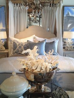 www.eyefordesignlfd.blogspot.com : Decorating In An Elegant Coastal Style