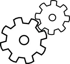 Clock Gears Drawing | gears by 10772 digital art drawings paintings illustrations conceptual ...
