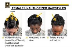 Soldiers Say Army's New Hairstyle Bans Are Racially Biased Against Black Women