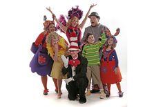 whoville costumes Whoville Costumes, Cool Costumes, Halloween Costumes, Whoville Christmas, Christmas Crafts, Halloween 2017, Halloween Ideas, Wacky Wednesday, Costume Design