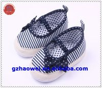 Estilo de la marina de guerra del bebé girls bowknot primeros zapatos del caminante - Identificación del producto : 60492299729 - m.spanish.alibaba.com