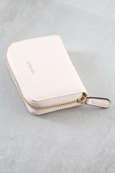 - Details Shipping & Returns The perfect daily wallet with a zippered closure. This is an on-the-go must have wallet. Wallets For Girls, Cute Wallets, Small Wallet, Zip Around Wallet, Clutch Wallet, Leather Wallet, Best Wallet, Credit Card Wallet, Girls Bags