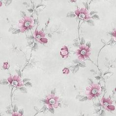 Watercolor poppies and leaves create vined rows in this design. Beautiful variations in tone blend well. A soft emboss naturally pairs well with this design. Grey Floral Wallpaper, Daisy Wallpaper, Brick Wallpaper Roll, Botanical Wallpaper, Metallic Wallpaper, Embossed Wallpaper, Cute Wallpaper Backgrounds, Textured Wallpaper, Wallpapers