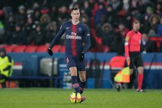 PARIS, FRANCE - JANUARY Julian Draxler of Paris Saint Germain during the French League 1 match between Paris Saint Germain v Guingamp at the Parc des Princes on January 2019 in Paris France (Photo by Jeroen Meuwsen/Soccrates/Getty Images) French League, Julian Draxler, France Photos, Paris Saint, Saint Germain, Paris France, Saints, January, Sporty