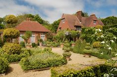 East Ruston Old Vicarage Gardens in Norfolk. Great place to visit for garden inspiration