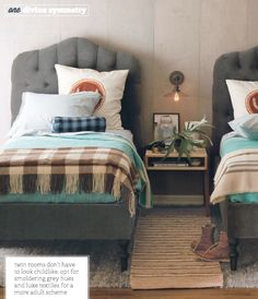 Those beds.