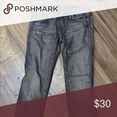 Size 28 7 For All mankind jeans Excellent condition jeans! Inseam about 34 7 For All Mankind Jeans Straight Leg
