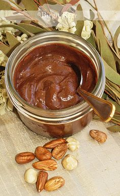 Homemade sugar-free nutella
