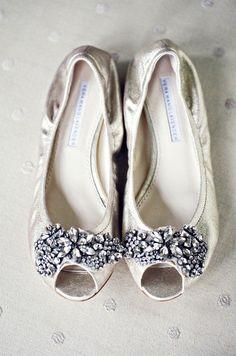 Vera Wang Lavender Luna flats :  wedding flats gold lavender luna shoes