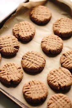 Vegan Almond Butter Shortbread Cookies