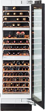 KWT 1603 Vi - MasterCool™ Wine Temperature Control Unit   for optimum conditioning, thanks to different zones and Miele TouchControl. --NO_COLOR