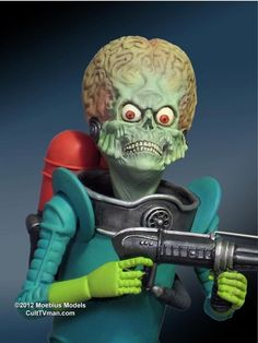 Mars Attacks from Moebius Models