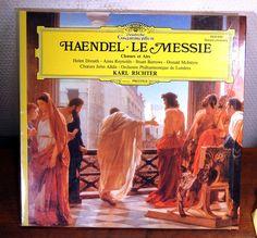 HAENDEL LE MESSIE RICHTER CHOEURS ET AIR deutsche grammophon prestige 2530643