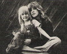 .Stevie and Amy Fleetwood 1976.