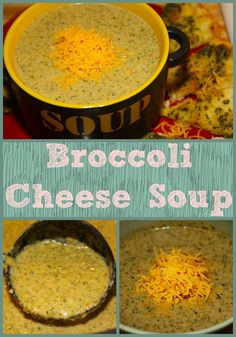Broccoli Cheese Soup- a creamy and delicious soup perfect for a cold winter night!
