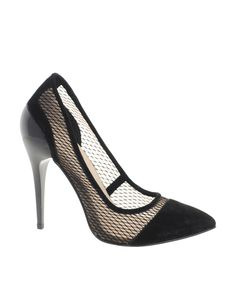 mesh shoe love #heel