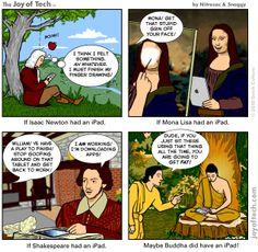 iPad humor