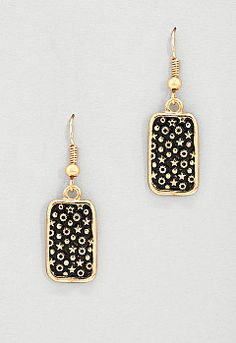 Cay Square Drop Earring, 9-0035975276, Cay Square Drop Earring Main View PGP
