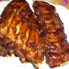 Filipino Ribs - featured on Food2Fork. Definitely want to try this!