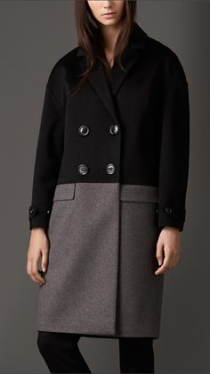 Burberry London Cashmere Cocoon Coat