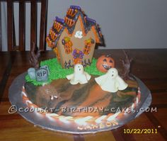 Spooky Halloween Cake ... This website is the Pinterest of birthday cakes