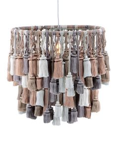 Take a look at this Silk Tassel Lamp Shade by Barreveld International on #zulily today!