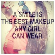 Smile Quote - The Blushing Dreamer