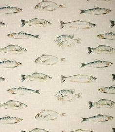 Fish Linen Fabric / Linen