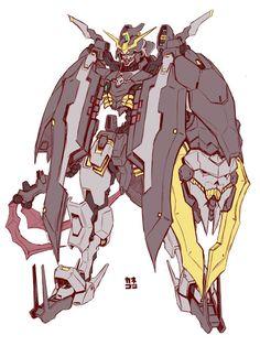 Fanart: ASW-G-4 Gundam Gamigin - Gundam Kits Collection News and Reviews