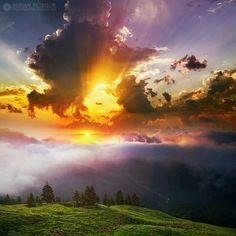 The Rodnei Mountains, Romania