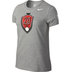 e32dfd34e6b Nike Women s USA Soccer Abby Wambach Hero Grey T-Shirt - Dick s Sporting  Goods Us