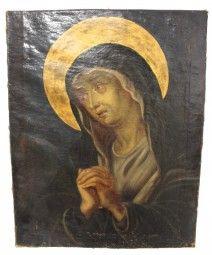 Gemälde Betende Madonna um 1750 - 1780