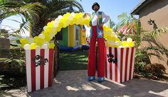 Carnival Balloon Decoration San Diego, Party Decoration in San Diego
