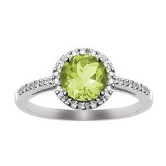 I'd really love an August birthstone ring.