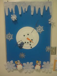 snowman bulletin board