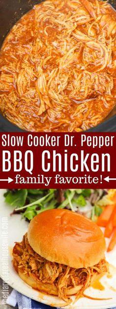 Pepper BBQ Chicken – The Diary of a Real Housewife - Slow Cooking Chicken Tikka Masala Rezept, Butter Chicken Rezept, Slow Cooker Huhn, Slow Cooker Bbq, Slow Cooking, Cooking Tips, Crockpot Meat, Crockpot Bbq Chicken, Dinner Crockpot