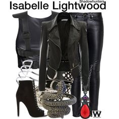 Inspired by Emeraude Toubia as Isabelle Lightwood on Shadowhunters.