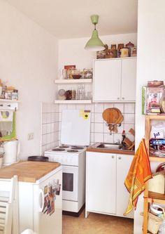 Kleine, aber feine Küchennische. Schöne Wohnung in Bochum.