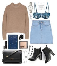 """""""Bandits"""" by sophiehackett ❤ liked on Polyvore featuring SWEET MANGO, La Perla, Marni, H&M, Dogeared, Vincent Longo, FOSSIL, Gerard Yosca, Topshop and BERRICLE"""