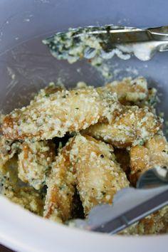 Ultimate Baked Garlic Parmesan Wings