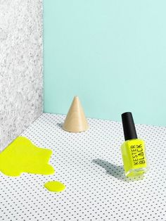 Mint, neon yellow &