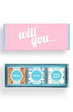 sugarfina+'Be+My+Bridesmaid'+Candy+Gift+Set+available+at+#Nordstrom