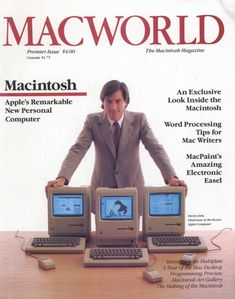 "Macintosh: it c hanged the world since 1984 Jan 23. 30 years ago. The world no longer risked being 1984! (Though Orwellian it is in this Police-State day & age, but Apple did try! - it's the politicians that f'd it) • Cnet article 2014-01-23 on ""100-day marketing blitz: After the applause, confusion"" ...as Apple's early campaign marketed the Mac as both biz & home pc..."
