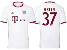 dac73dd9159 Bayern Munich #37 Julian Green 2016-17 Alternate Jersey Uefa Super Cup, Club