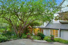 Cabin, House Styles, Wood, Garden, Plants, Home Decor, Garten, Decoration Home, Woodwind Instrument