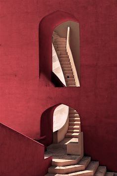 """ganymedesrocks: """" loverofbeauty: """" Jantar Mantar, Jaipur/India - Architectural astronomical instruments (18.century) """" Ascending the Mysteries of this First Day of a New Week… """""""