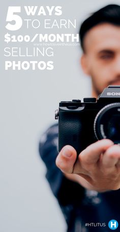 Nowadays we have the ability to constantly take high definition pictures through our phones. Imagine if you'd be able to sell those photos and make some serious cash by doing so. www.howtoliveinth...
